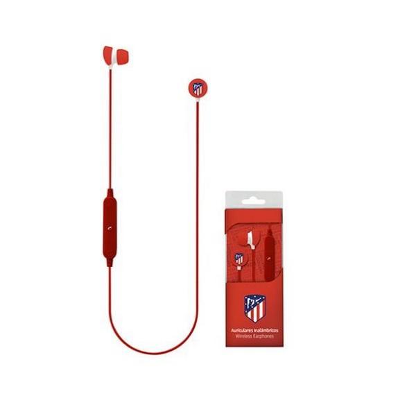 Športové Bluetooth Handsfree s Mikrofónom Atlético Madrid Červená