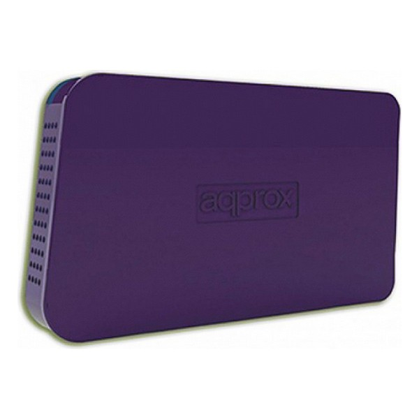 """Housing for Hard Disk approx! appHDD05P 2,5"""" USB 2.0 Purple Computers Electronics"""