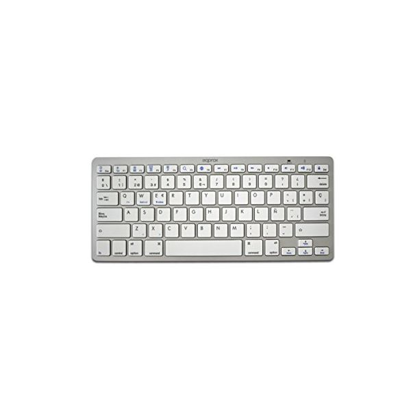 Bluetooth Keyboard approx! APPKBBT02S 3.0 Universal White