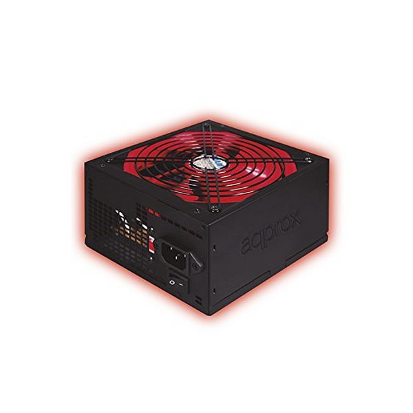 Gaming Power Supply approx! APP800PSv2 14 cm APFC 800W Črna Rdeča