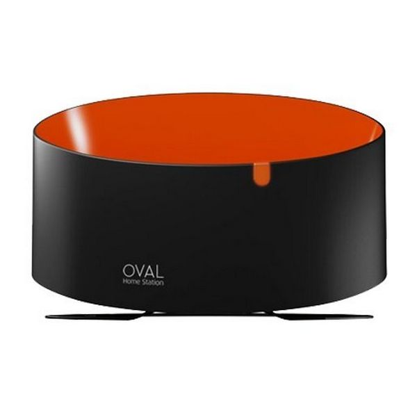 Smart TV TenGO! Station Oval Negro