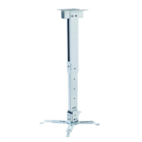Soporte de Techo Inclinable y Giratorio para Proyector iggual STP02-S IGG314579 -22,5 - 22,5° -15 - 15° Aluminio Blanco