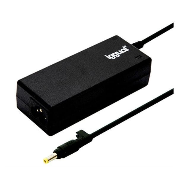 Laptop Charger iggual IGG315484 65W Black