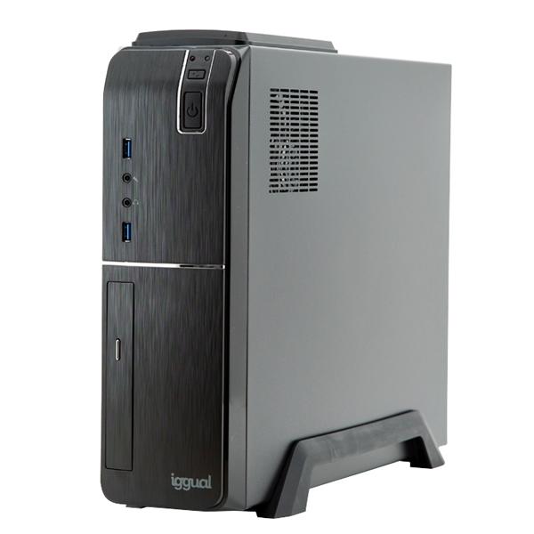 PC de Sobremesa iggual PSIPC352 i5-9400 8 GB RAM 240 GB SSD W10 Negro
