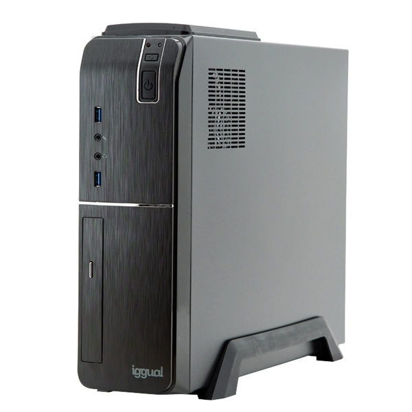 PC de Sobremesa iggual PSIPC353 i5-9400 16 GB RAM 480 GB SSD W10 Negro