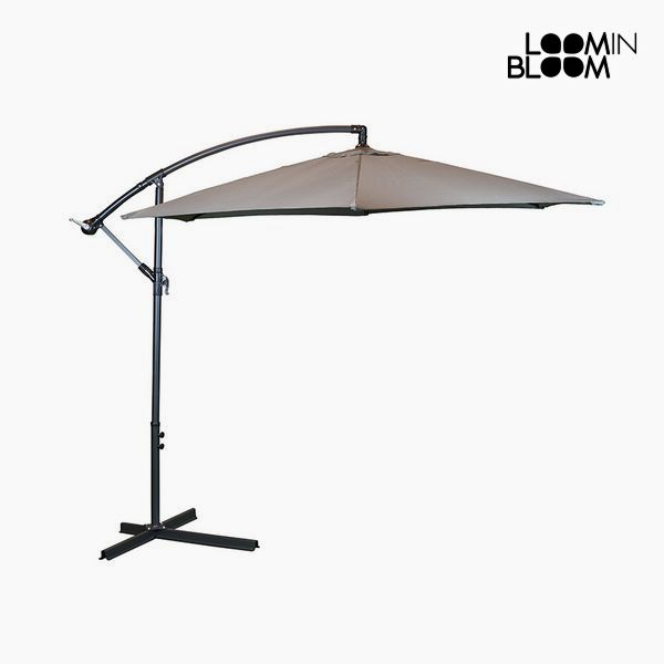 Sunshade Ø 300 cm Grey by Loom In Bloom