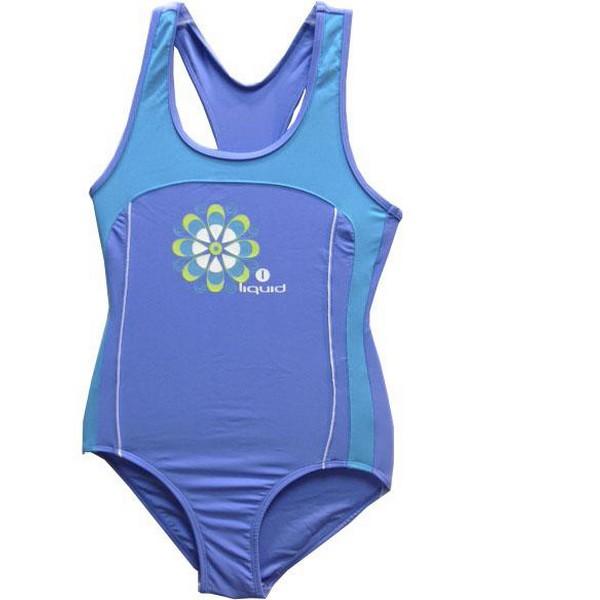 Child's Bathing Costume Liquid Sport Doly Sapphire