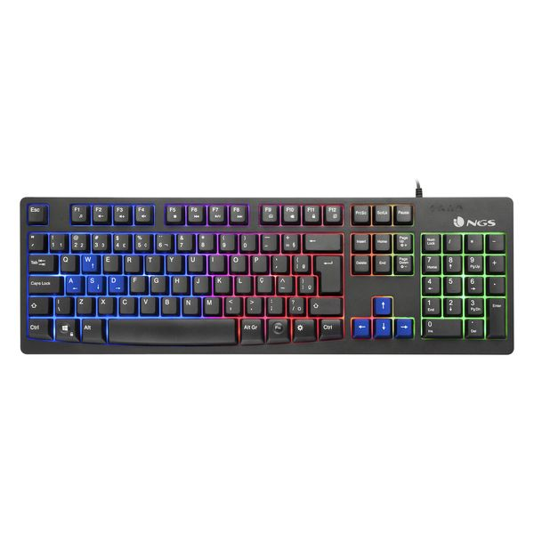 Gaming Keyboard NGS GKX-300 Black