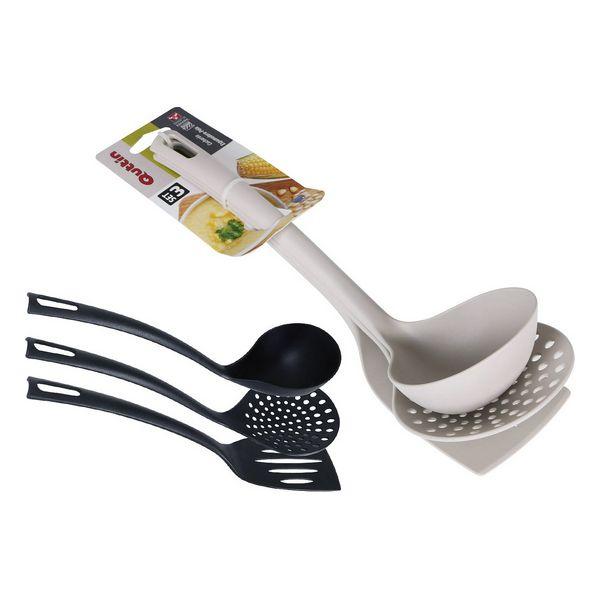 Set de Utensilios para Cocina Quttin Nylon (3 Piezas)