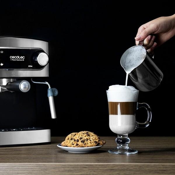 Cafetera Express de Brazo Cecotec Power Espresso 20 1,5 L 850W Negro Inox (5)