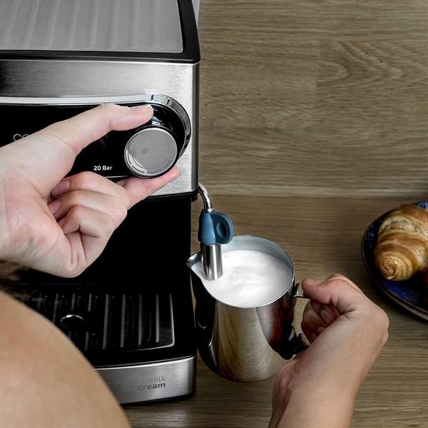 Cafetera Express de Brazo Cecotec Power Espresso 20 1,5 L 850W Negro Inox (2)