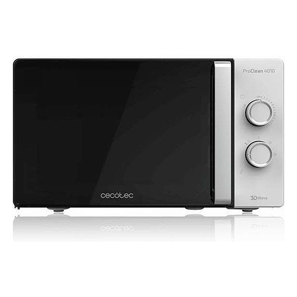 Microwave with Grill Cecotec ProClean 4110 23 L 700W Black Silver