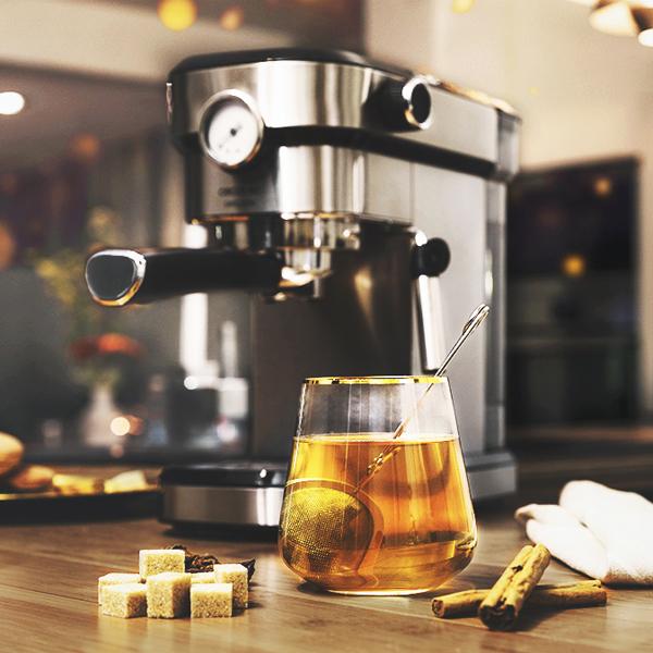 Cafetera Express de Brazo Cecotec Cafelizzia 790 Steel Pro 1,2 L 20 bar 1350W Acero inoxidable (5)
