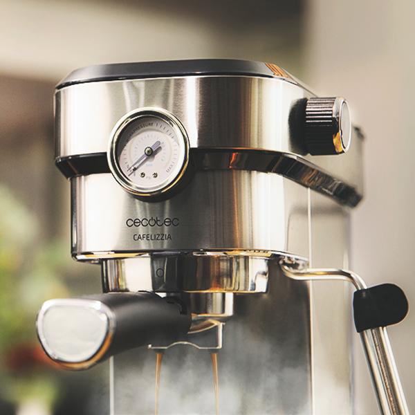 Cafetera Express de Brazo Cecotec Cafelizzia 790 Steel Pro 1,2 L 20 bar 1350W Acero inoxidable (4)