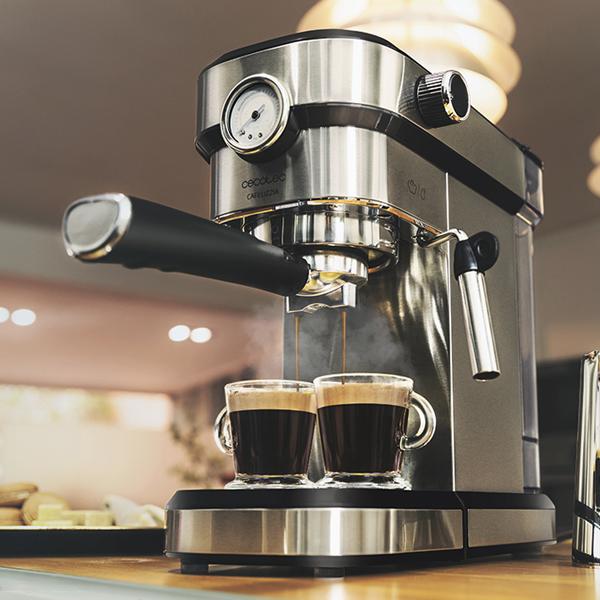 Cafetera Express de Brazo Cecotec Cafelizzia 790 Steel Pro 1,2 L 20 bar 1350W Acero inoxidable (3)
