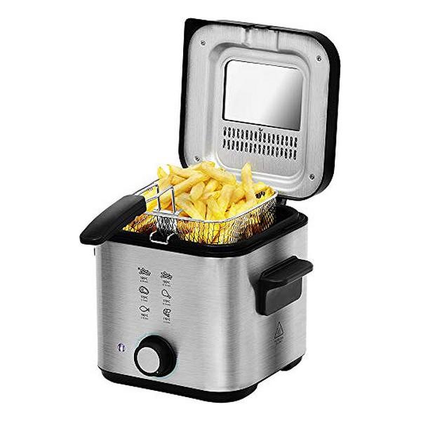 Deep-fat Fryer Cecotec CleanFry Infinity 1500 1,5 L 900W Black Inox