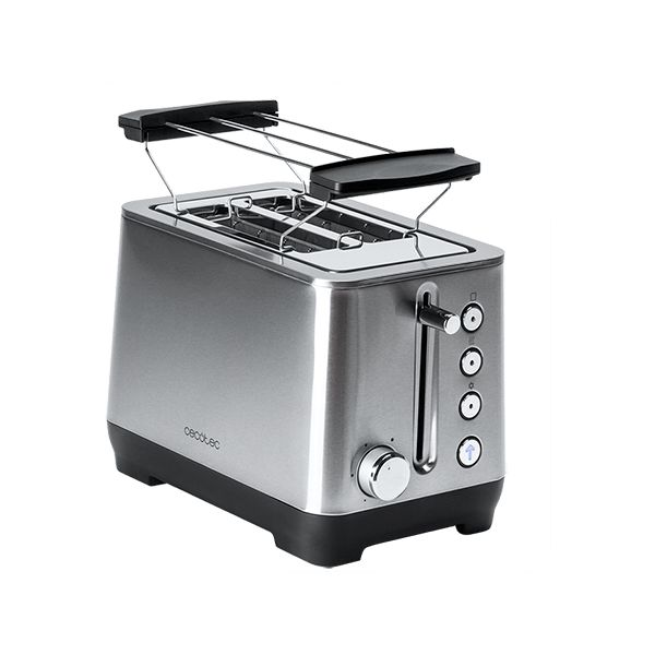 Toaster Cecotec BigToast Double 1000 W Stainless steel