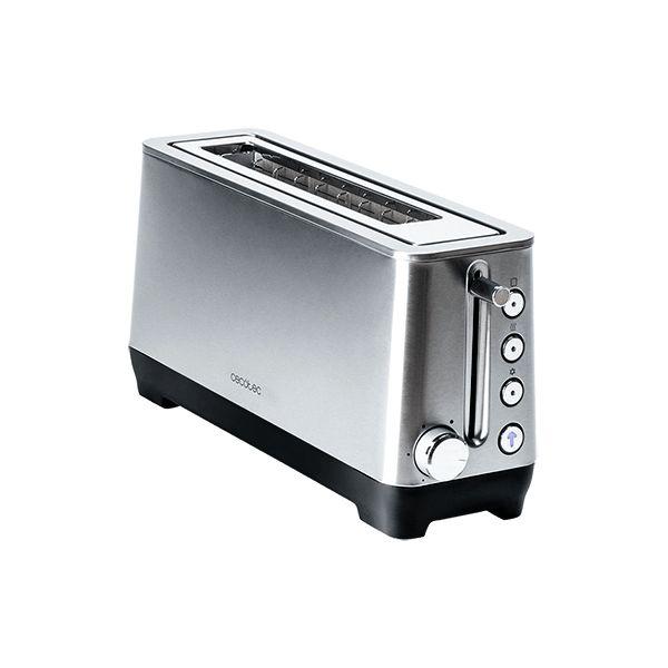 Toaster Cecotec BigToast Extra 1100 W Stainless steel
