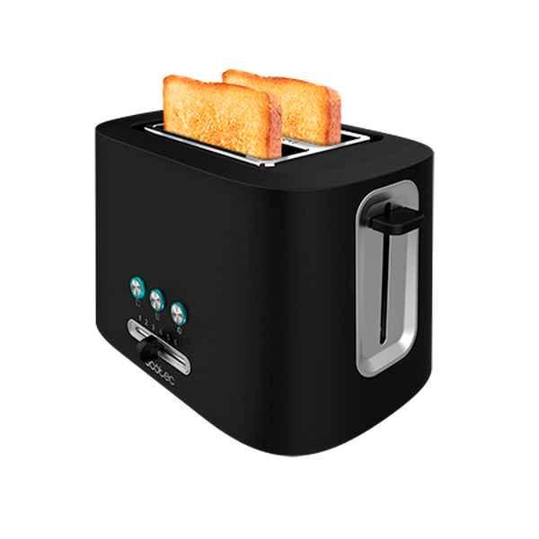 Toaster Cecotec Toast&Taste 9000 Double 980 W Black