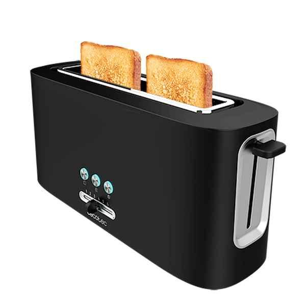Toaster Cecotec Toast&Taste 10000 Extra 980 W Black