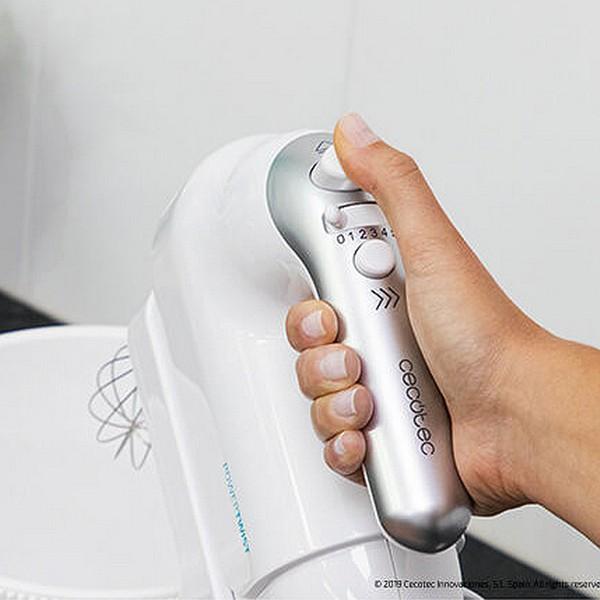 Mixeur/mélangeur de pâte Cecotec PowerTwist Gyro 500W 3,5 L Blanc
