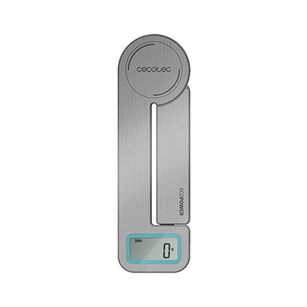 kitchen scale Cecotec Cook Control 10100 EcoPower Compact LCD 5 Kg Stainless steel