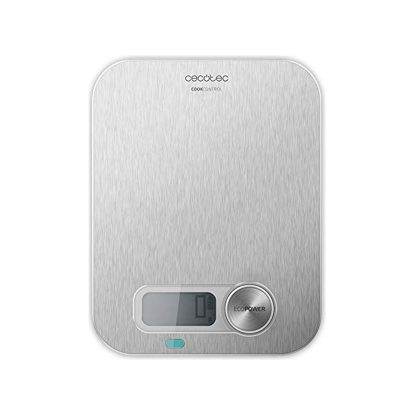 kitchen scale Cecotec Cook Control 10200 EcoPower LCD 8 Kg Stainless steel