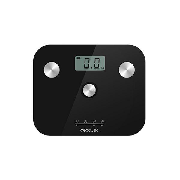 Digital Bathroom Scales Cecotec EcoPower 10100 Full Healthy LCD 180 kg Black