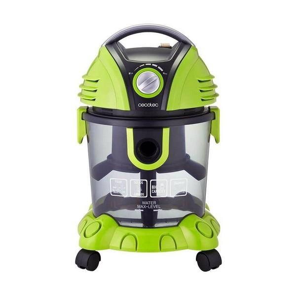 Bagless Vacuum Cleaner Cecotec Conga Wet&Dry 1400W 15L Green Black
