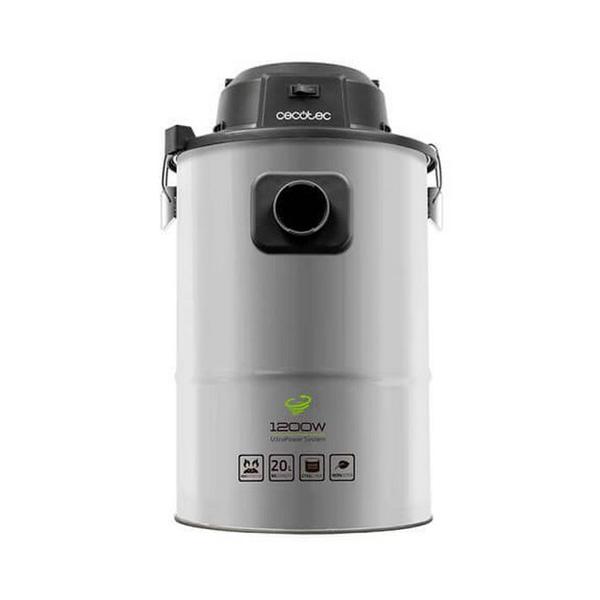Ash Vacuum Cleaner Cecotec Conga PowerAsh 1200 20 L 1200W Inox