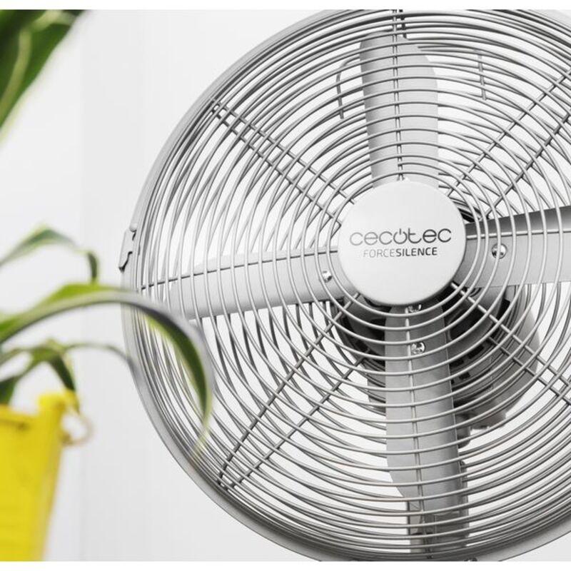 Stolový ventilátor Cecotec Forcesilence 570 Steeldesk 45W