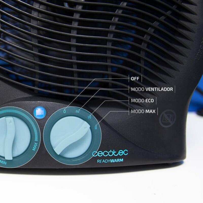 Prenosný termoventilátor Cecotec Ready Warm 9500 Force 2000W Čierna