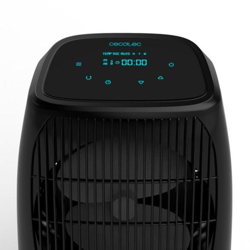 Prenosný termoventilátor Cecotec Ready Warm 9600 Smart Force 2000W Čierna