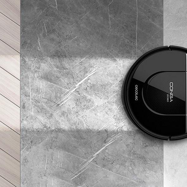 Robotický vysávač Cecotec Conga 2090 Vision, čierny