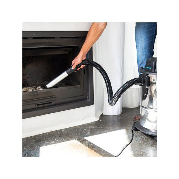Ash Vacuum Cleaner Cecotec Conga PopStar 12200 Ash Steel 1200 W 20 L