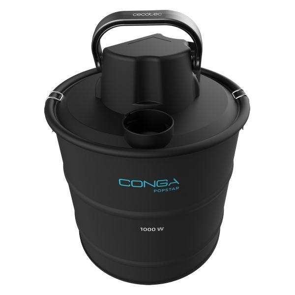 Ash Vacuum Cleaner Cecotec Conga PopStar 10180 Ash 18 L 1000 W Black