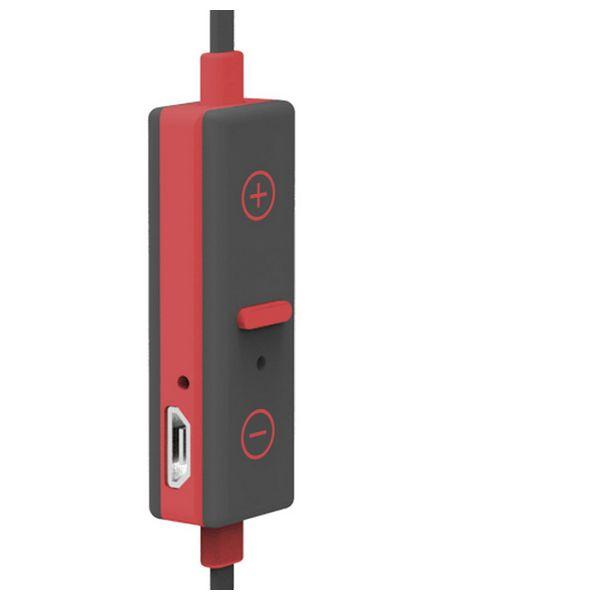 Auriculares Bluetooth Deportivos con Micrófono Ref. 101417 Rojo (1)