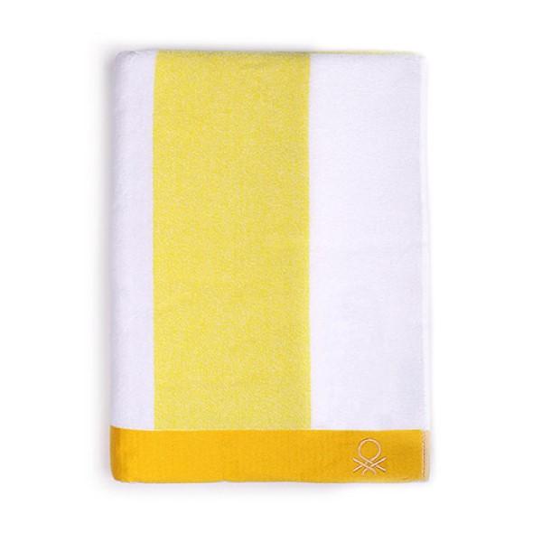 Beach Towel Benetton Cotton Curl fabric (90 x 160 cm) (90 x 160 cm)