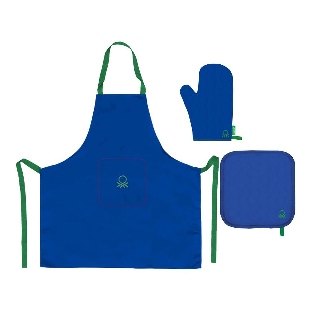 Apron Benetton BE168 Blue (3 pcs)