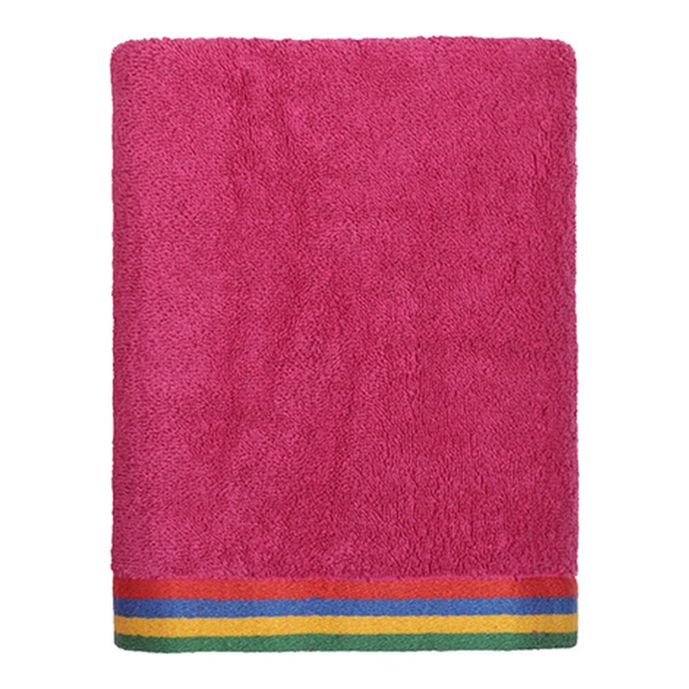 Beach Towel Benetton Kids Pink (70 x 140 cm)