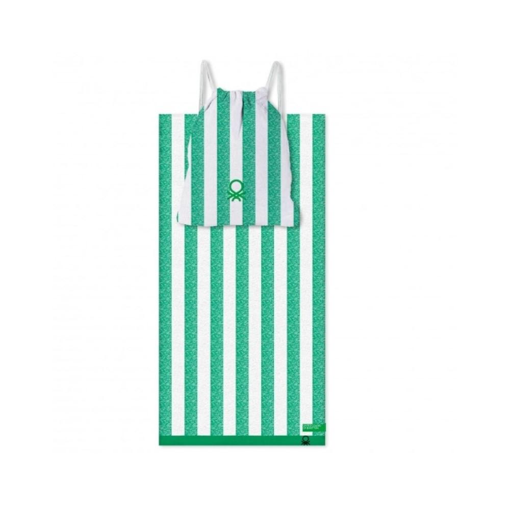 Beach Towel Benetton Green (2 pcs)