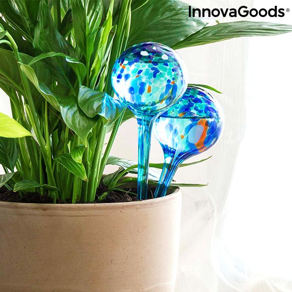 Globos de Riego Automático Aqua·Loon InnovaGoods (Pack de 2)