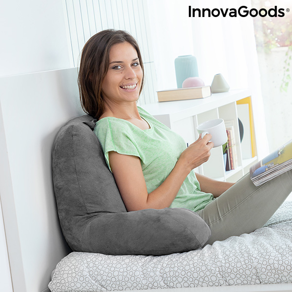 Reading Pillow with Armrests Huggilow InnovaGoods