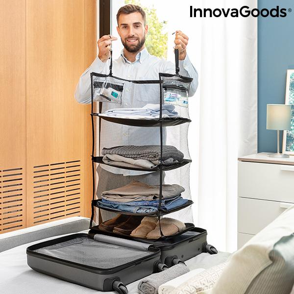 Estantería Plegable Organizadora Portátil para Equipaje Sleekbag InnovaGoods