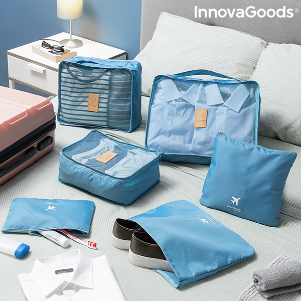 Suitcase Organiser Bag Set Luggan InnovaGoods 6 Pieces