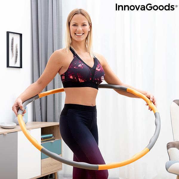 Aro de Fitness Desmontable Recubierto de Espuma O-Waist InnovaGoods