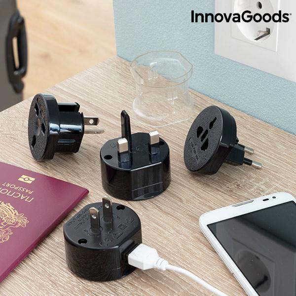 Universal Travel Power Adapter Electrip InnovaGoods