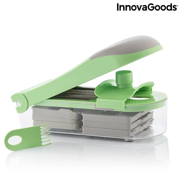 Coupe-Légumes, Râpe et Mandoline avec Recettes et Accessoires 7 en 1 Choppie Expert InnovaGoods