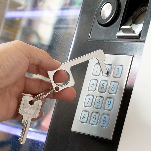 Hygienic Door Opener Keyring Multi-use Security