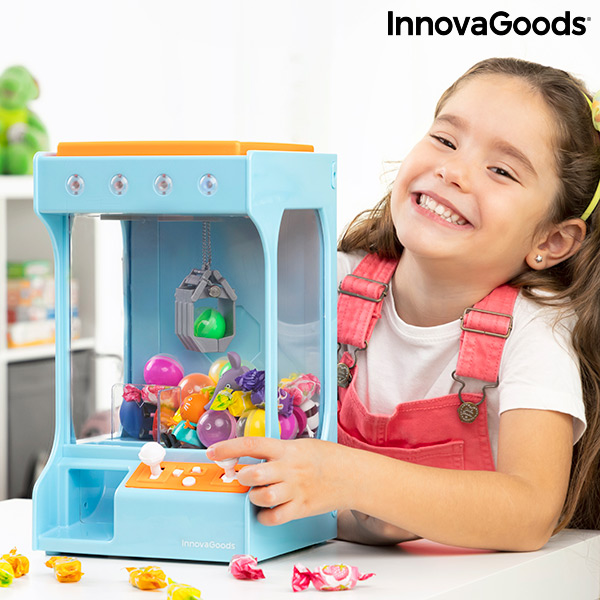 Fairground Claw Machine with Light and Sound for Sweets and Toys SurPrize InnovaGoods
